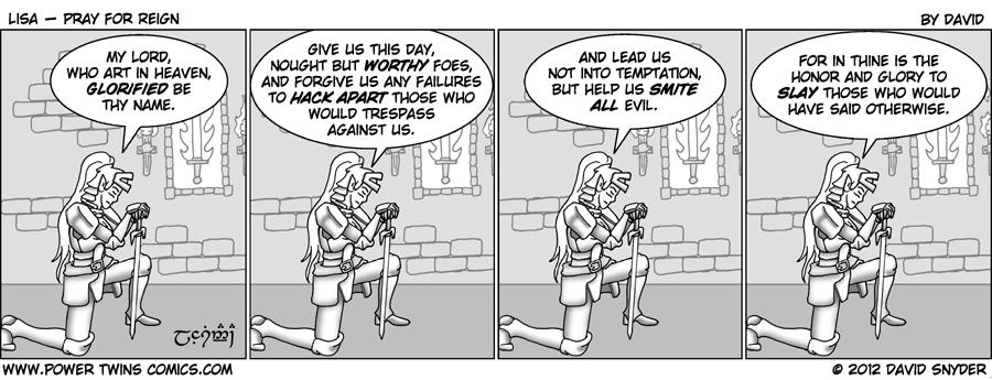 Lisa Pray For Reign