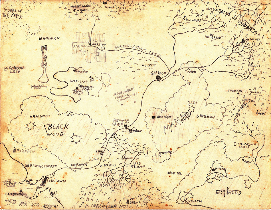 Galydor – Map